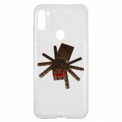 Чехол для Samsung A11/M11 Spider from Minecraft