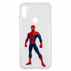 Чохол для Samsung A11/M11 Spiderman in costume