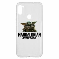 Чехол для Samsung A11/M11 Star Wars Yoda beby