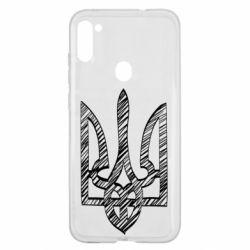 Чехол для Samsung A11/M11 Striped coat of arms