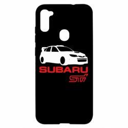 Чехол для Samsung A11/M11 Subaru STI