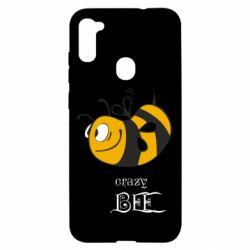 Чехол для Samsung A11/M11 Сумасшедшая пчелка