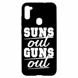 Чехол для Samsung A11/M11 Suns out guns out
