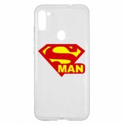 Чехол для Samsung A11/M11 Super Man