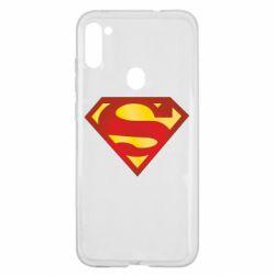 Чехол для Samsung A11/M11 Superman Classic
