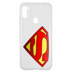Чехол для Samsung A11/M11 Superman Logo