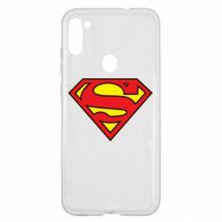 Чехол для Samsung A11/M11 Superman Symbol