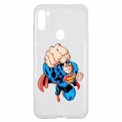Чохол для Samsung A11/M11 Супермен Комікс