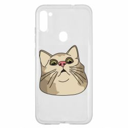 Чехол для Samsung A11/M11 Surprised cat