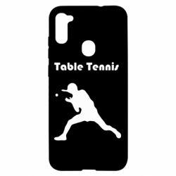 Чохол для Samsung A11/M11 Table Tennis Logo