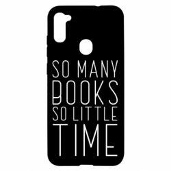 Чохол для Samsung A11/M11 Так багато книг так мало часу