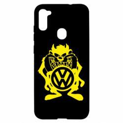 Чехол для Samsung A11/M11 Тасманский дьявол Volkswagen