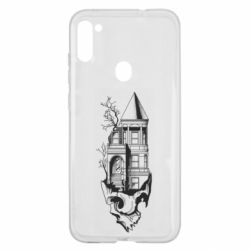 Чохол для Samsung A11/M11 The castle is on the skull