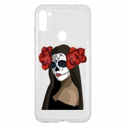 Чохол для Samsung A11/M11 The girl in the image of the day of the dead