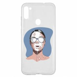 Чохол для Samsung A11/M11 The girl is doused with milk