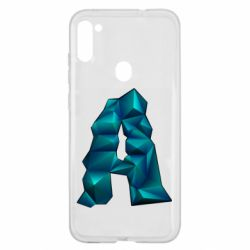 Чехол для Samsung A11/M11 The letter a is cubic