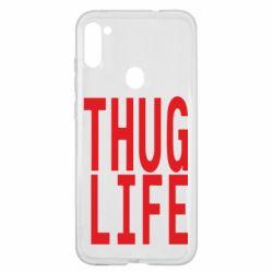 Чохол для Samsung A11/M11 thug life