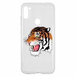 Чохол для Samsung A11/M11 Tiger roars