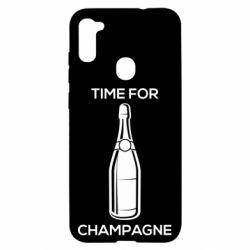 Чохол для Samsung A11/M11 Time for champagne