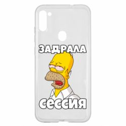 Чехол для Samsung A11/M11 Tired of the session