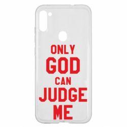 Чохол для Samsung A11/M11 Тільки Бог може судити мене