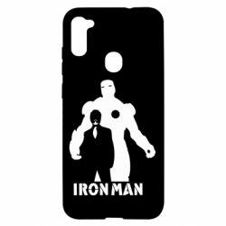Чехол для Samsung A11/M11 Tony iron man