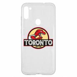 Чехол для Samsung A11/M11 Toronto raptors park