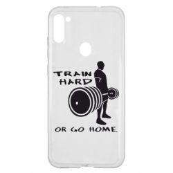 Чехол для Samsung A11/M11 Train Hard or Go Home