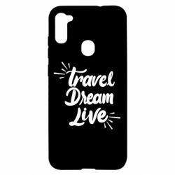 Чехол для Samsung A11/M11 Travel Dream Live