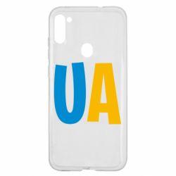 Чехол для Samsung A11/M11 UA Blue and yellow