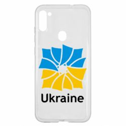 Чохол для Samsung A11/M11 Ukraine квадратний прапор