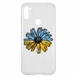 Чехол для Samsung A11/M11 Українська квітка