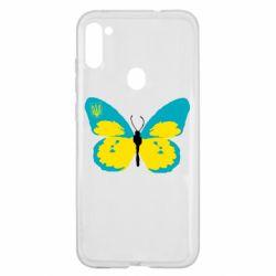 Чохол для Samsung A11/M11 Український метелик
