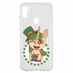 Чехол для Samsung A11/M11 Unicorn patrick day