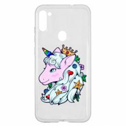 Чохол для Samsung A11/M11 Unicorn Princess