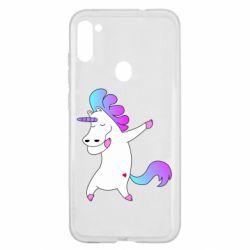 Чехол для Samsung A11/M11 Unicorn swag