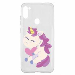 Чехол для Samsung A11/M11 Unicorn with love