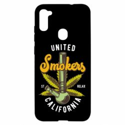 Чохол для Samsung A11/M11 United smokers st relax California