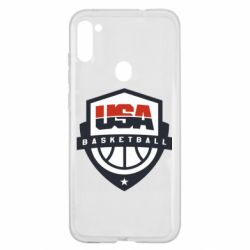 Чехол для Samsung A11/M11 USA basketball