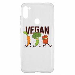 Чохол для Samsung A11/M11 Веган овочі