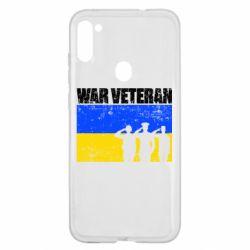 Чохол для Samsung A11/M11 War veteran
