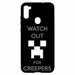 Чехол для Samsung A11/M11 Watch Out For Creepers