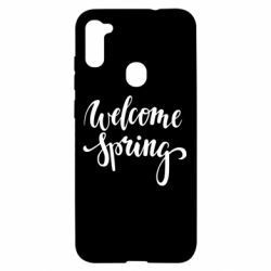 Чохол для Samsung A11/M11 Welcome spring