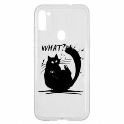 Чохол для Samsung A11/M11 What cat