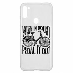 Чохол для Samsung A11/M11 When in doubt pedal it out