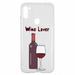 Чохол для Samsung A11/M11 Wine lover