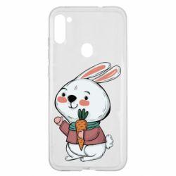 Чохол для Samsung A11/M11 Winter bunny