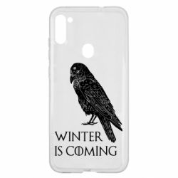 Чохол для Samsung A11/M11 Winter is approaching and crow