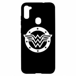 Чехол для Samsung A11/M11 Wonder woman logo and stars