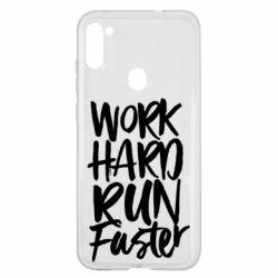 Чохол для Samsung A11/M11 Work hard run faster